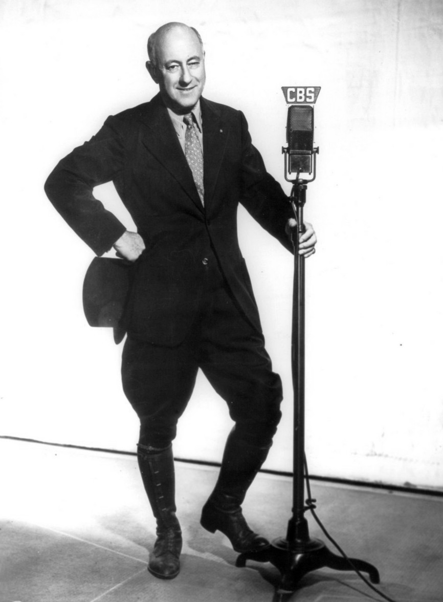 DeMille, in costume, circa 1937.