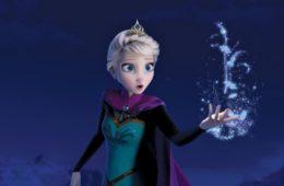 Queen Elsa in Frozen