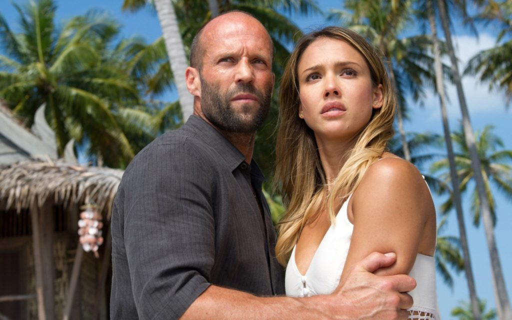 Statham and Alba. Like 2005 all over again.