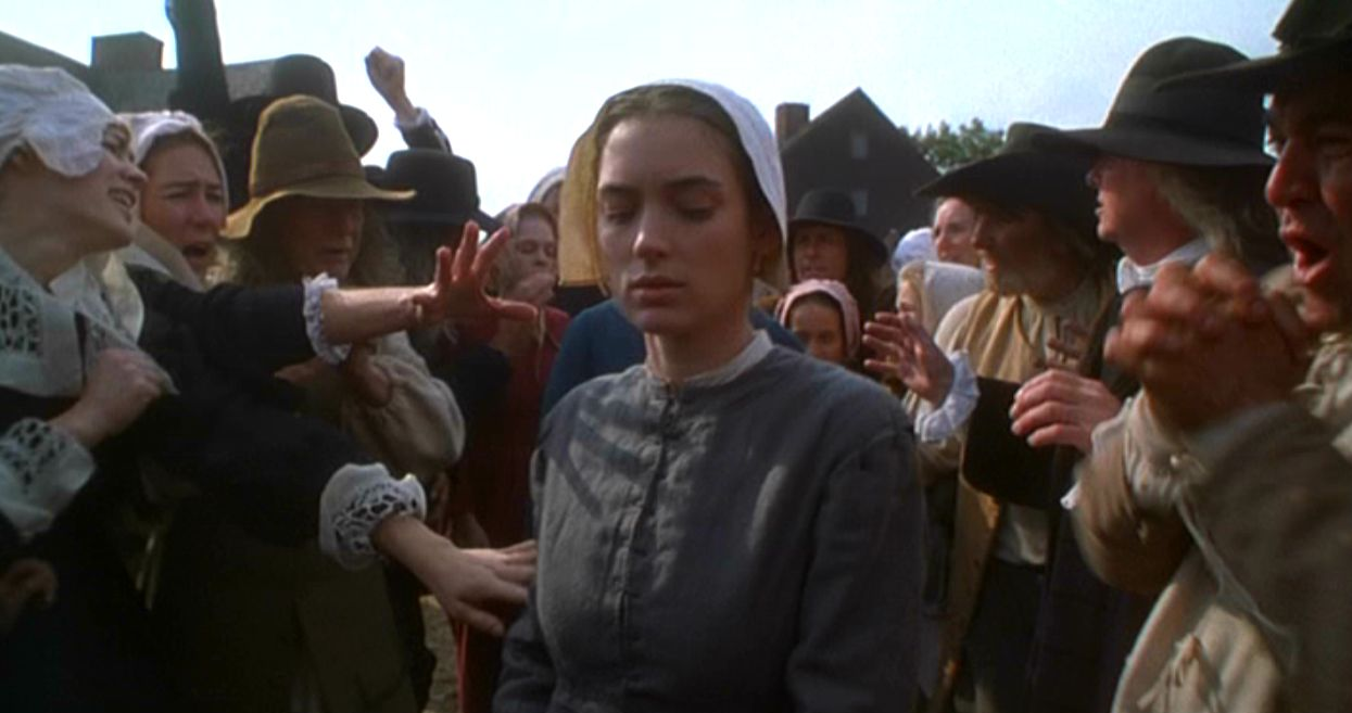 the crucible 1996 blu ray review zekefilm. Black Bedroom Furniture Sets. Home Design Ideas