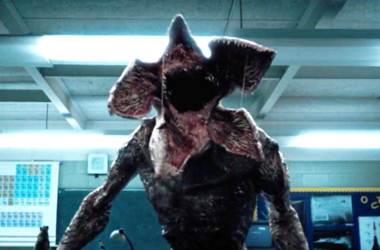 The Demogorgon monster from STRANGER THINGS (2016)