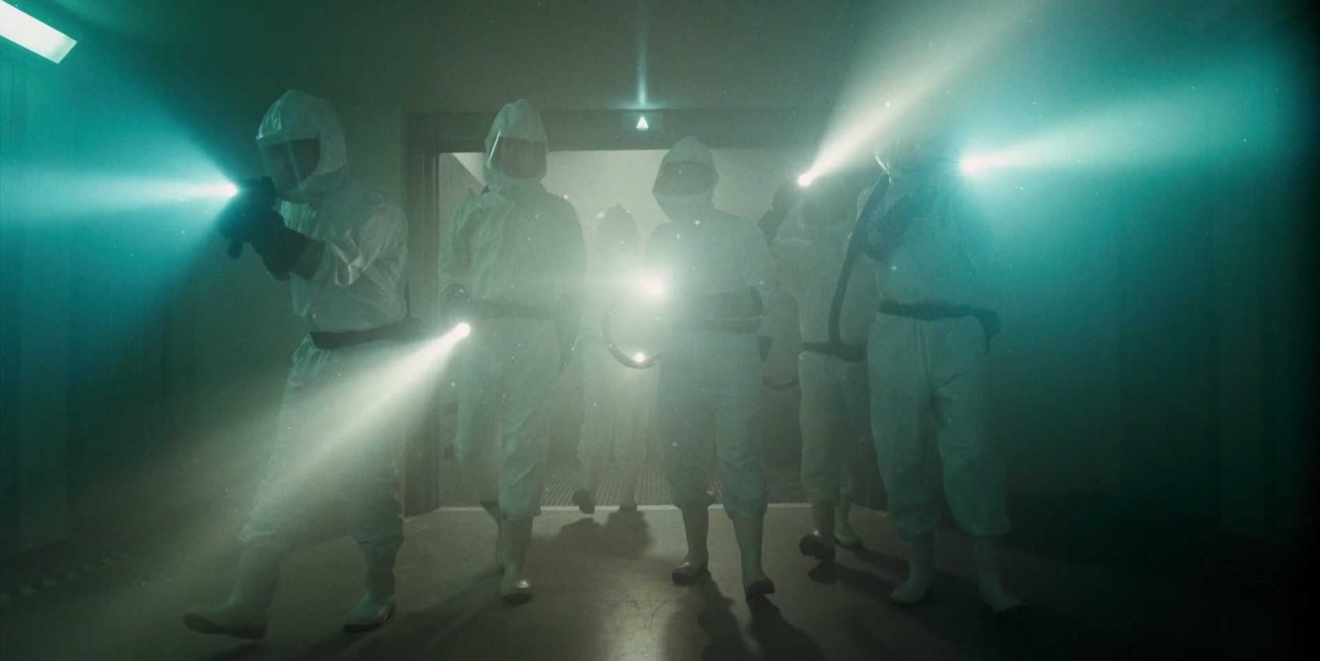 Scientists from the U.S. Department of Energy in STRANGER THINGS (2016)