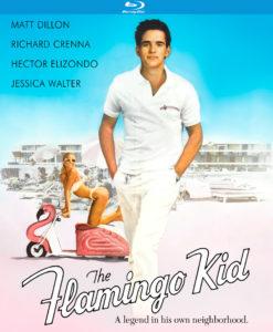 The Flamingo Kid (1984) Blu-ray Case