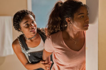 Ajiona Alexus and Gabrielle Union in BREAKING IN (2018)