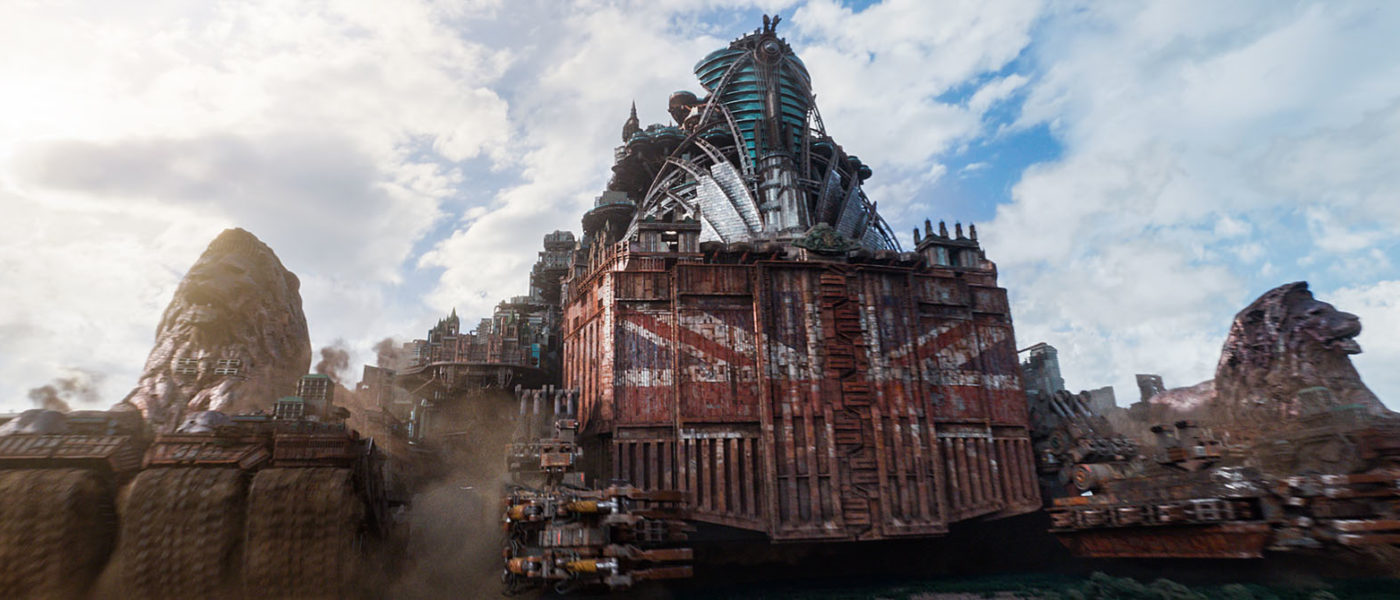 London in MORTAL ENGINES (2018)