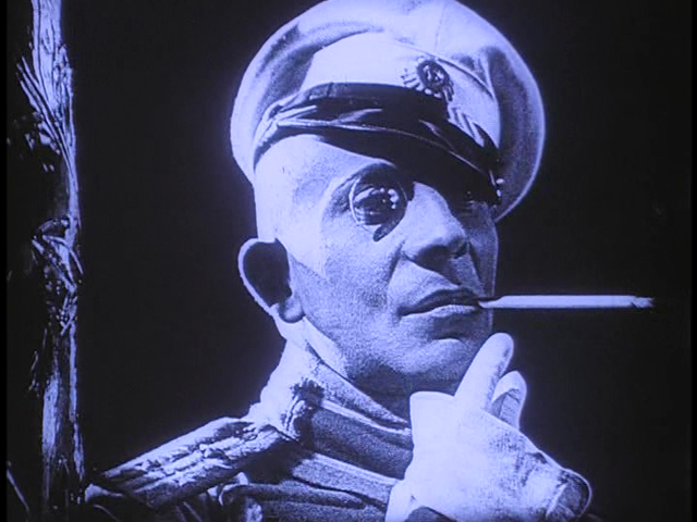 "Von Stroheim in ""Foolish Wives"" (1922)"