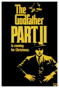 Godfather Part II poster