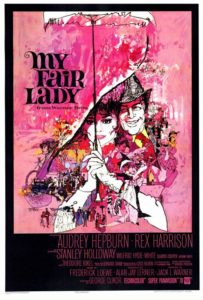Hepburn_My Fair Lady poster