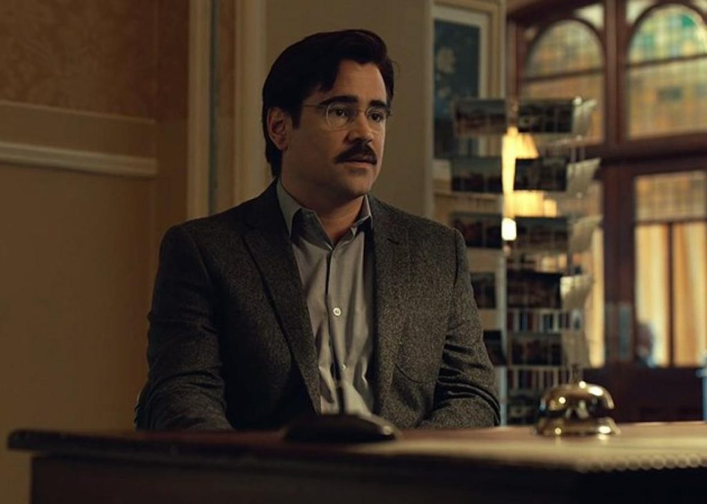 Colin Farrell might just become THE LOBSTER.