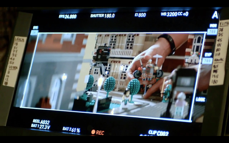 """Some grass-roots Lego filmmaking, as seen in """"A LEGO Brickumentary""""."""