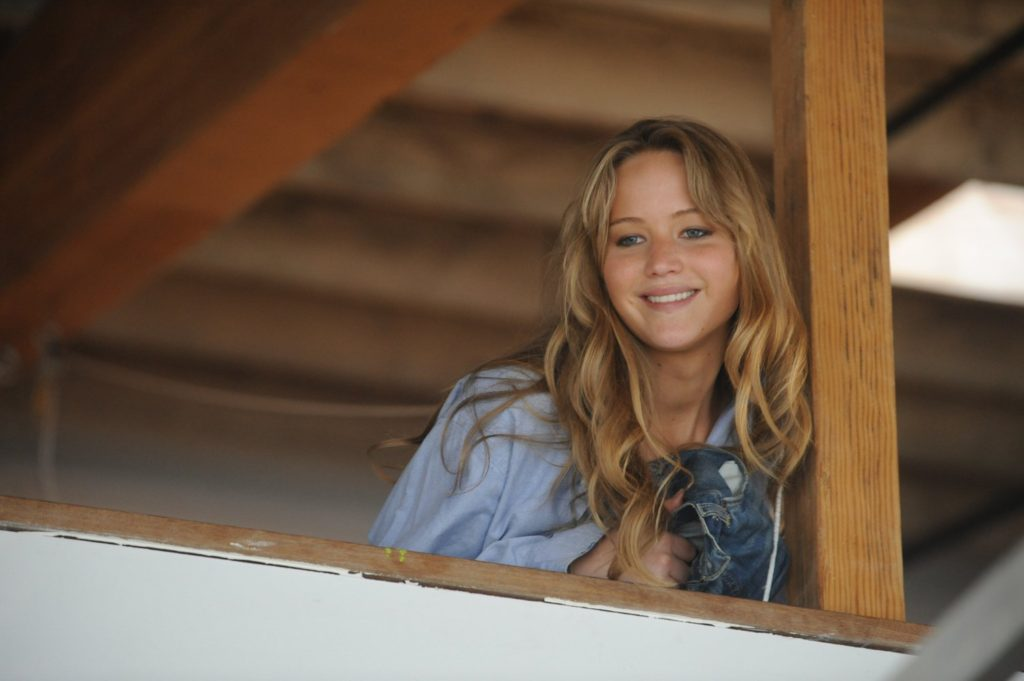 Jennifer Lawrence has a supporting role in LIKE CRAZY.