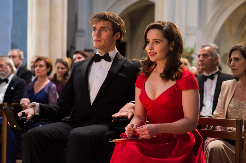 Sam Claflin and Emilia Clarke attend a concert in Me Before You