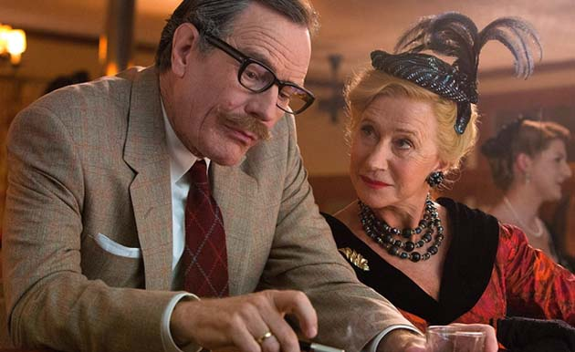 Brian Cranston and Helen Mirren in TRUMBO.