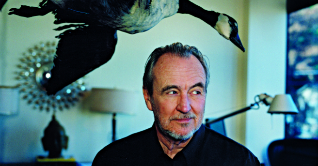 R.I.P. bird lover and filmmaker Wes Craven.