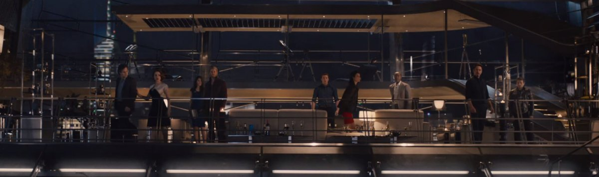 Dark and visually cluttered, the cast of AGE OF ULTRON reacts to yet more trouble.
