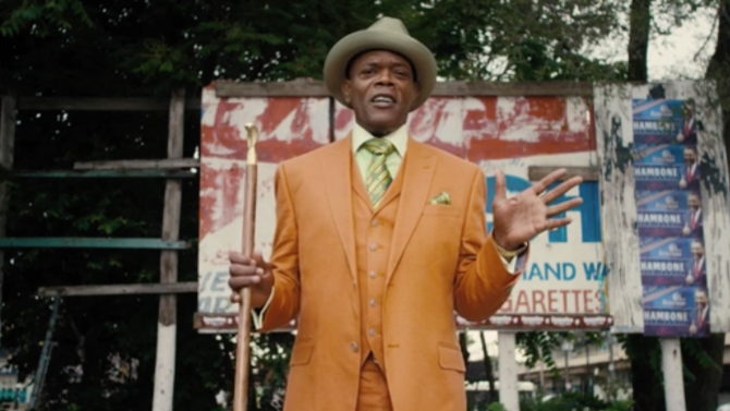 Samuel L. Jackson, telling it like it is, in CHI-RAQ.