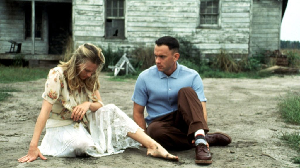 FORREST GUMP, Robin Wright, Tom Hanks, 1994