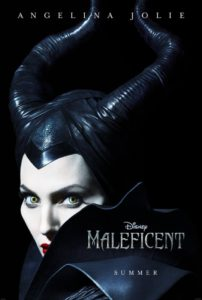 Angelina Jolie as Maleficent on the Maleficent Poster