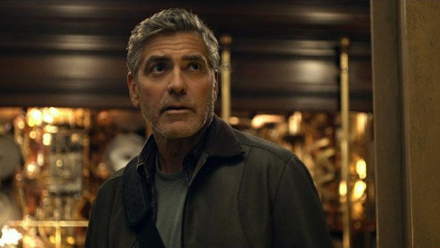 George Clooney in TOMORROWLAND.