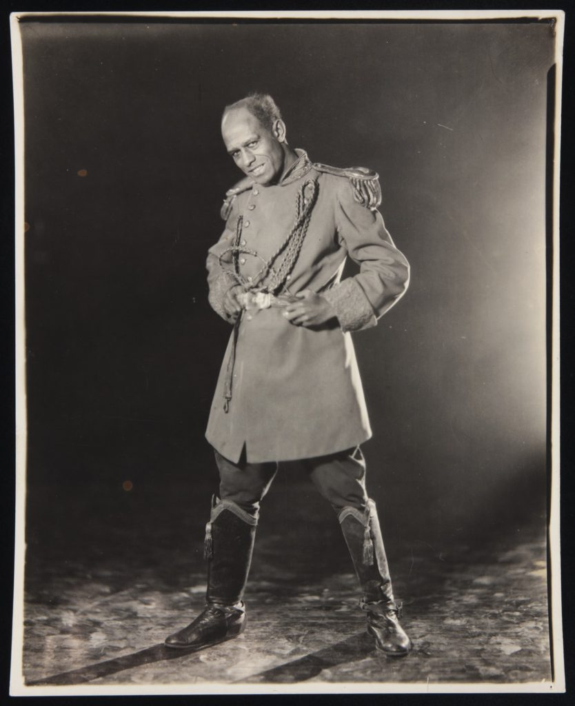 "Legendary stage actor Charles Gilpin, who originated the role of Eugene O'Neill's ""Emperor Jones"" (1920) on Broadway."