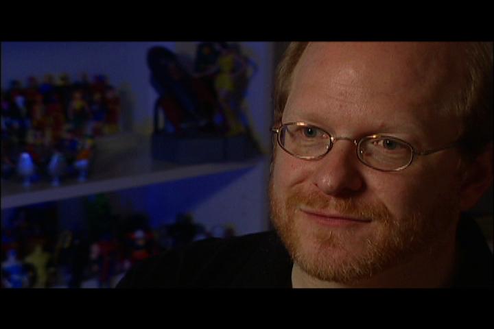 Comic writer Mark Waid