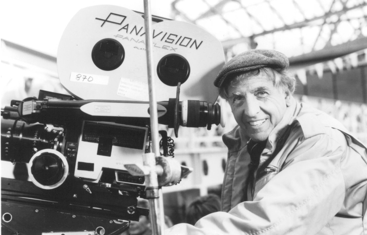 Garry Marshall on the Exit to Eden set