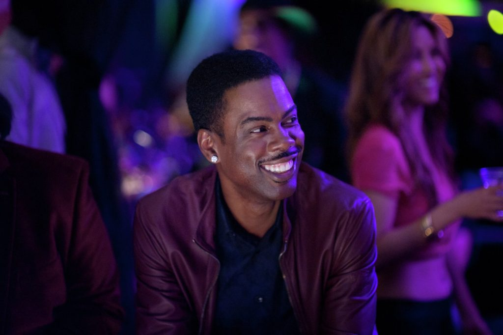 Chris Rock at a club in TOP FIVE.