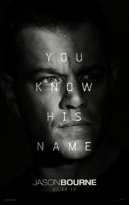 Jason Bourne (2015) Poster