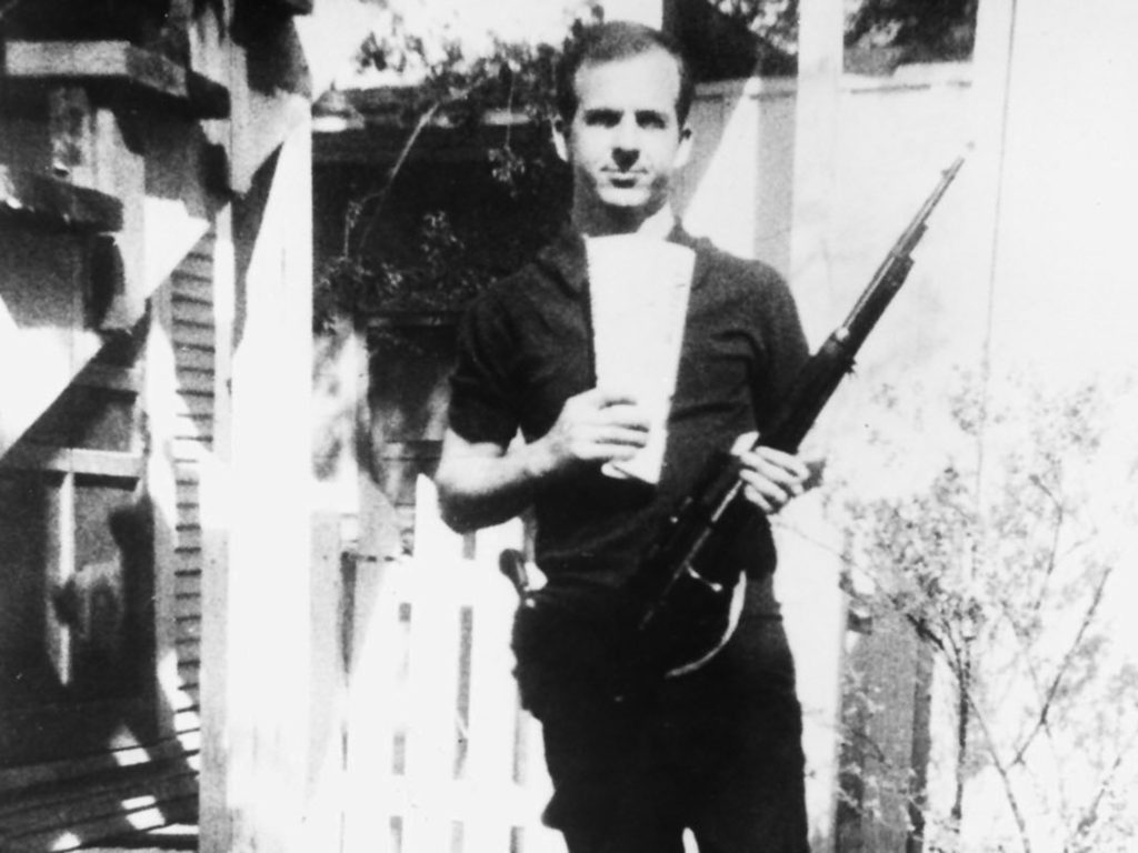 No Merchandising. Editorial Use Only. No Book Cover Usage Mandatory Credit: Photo by Everett Collection/REX (415565dq) Lee Harvey Oswald with rifle VARIOUS