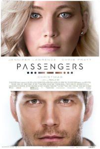 Passengers (2016) Poster Starring Jennifer Lawrence and Chris Pratt