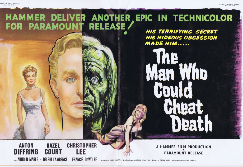THE MAN WHO COULD CHEAT DEATH (1959) – Blu-Ray Review – ZekeFilm