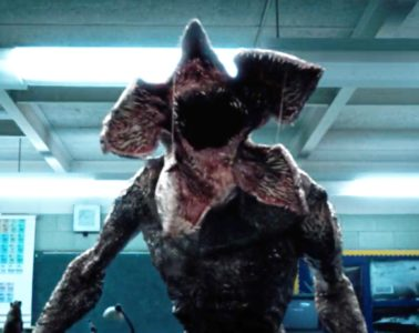 The Demogorgon monster from STRANGER THINGS (2016)