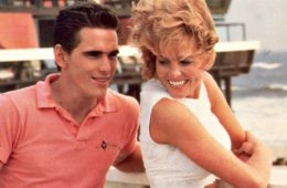 Matt Dillon and Janet Jones in The Flamingo Kid (1984)