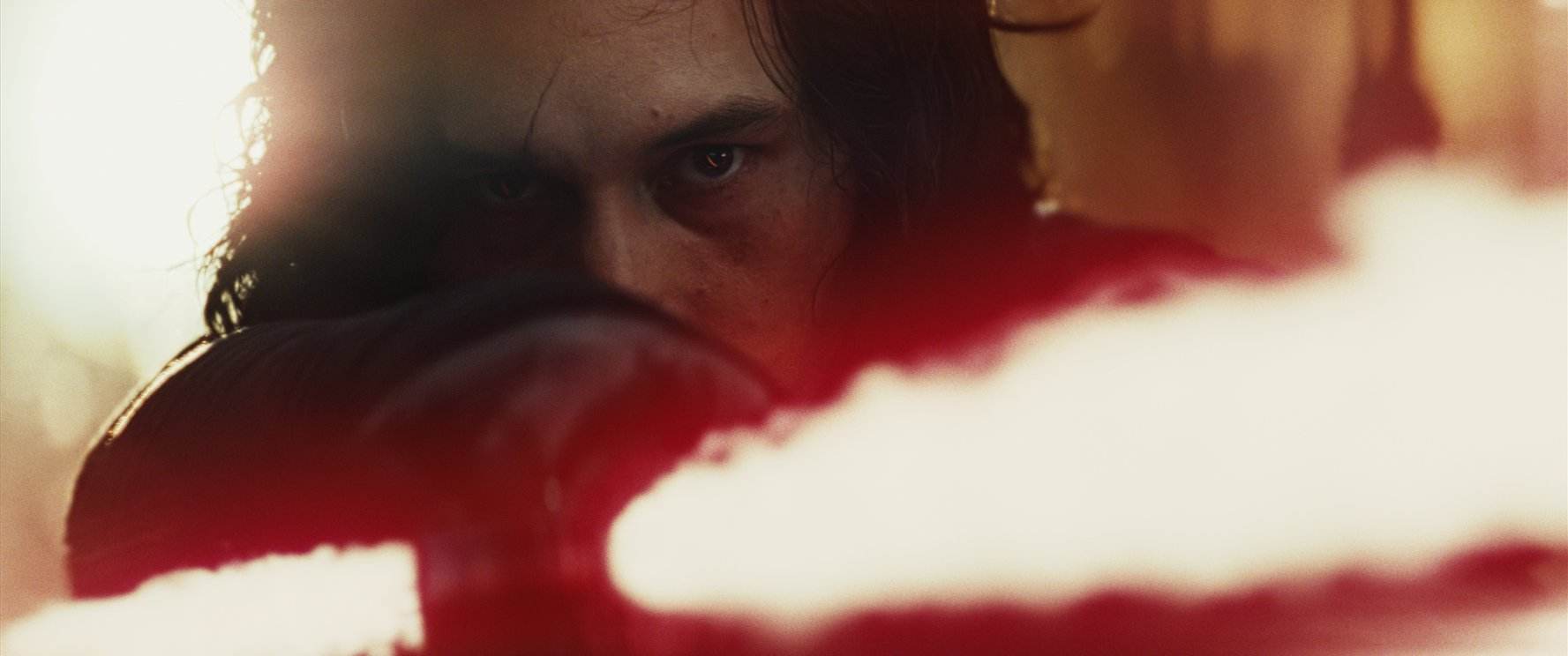 Adam Driver in STAR WARS: THE LAST JEDI (2017)