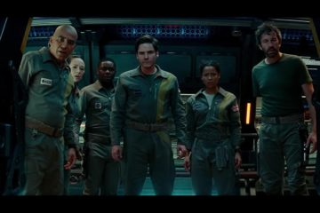 John Ortiz, Ziyi Zhang, David Oyelowo, Daniel Brühl, Gugu Mbatha-Raw, and Chris O'Dowd in THE CLOVERFIELD PARADOX (2018)