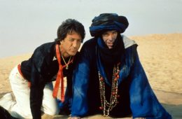 Dustin Hoffman and Warren Beatty in ISHTAR (1987)