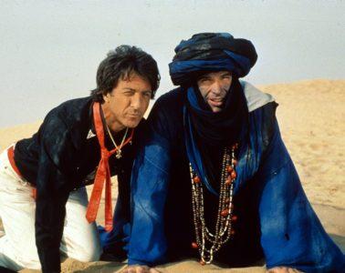 Dustin Hoffman and Warren Beatty in ISHTAR (1987)
