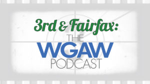 3rd & Fairfax: The WGAW Podcast logo