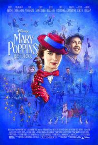 MARY POPPINS RETURNS (2018) poster