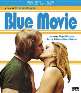 movie print English blue