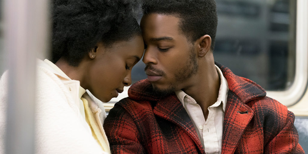 KiKi Layne and Stephan James in IF BEALE STREET COULD TALK (2018)