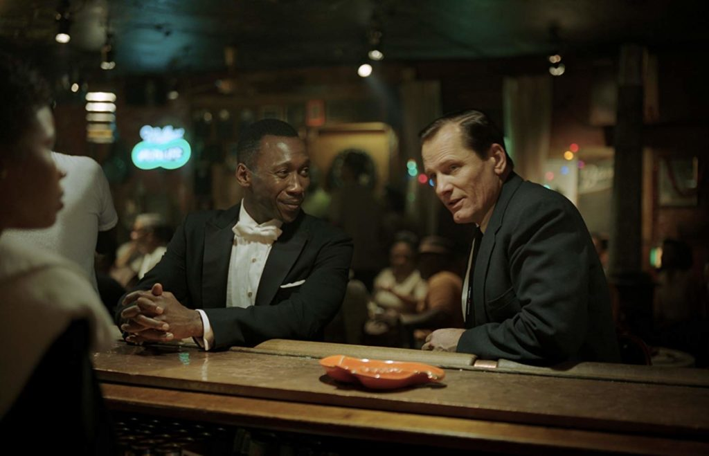 Mahershala Ali and Viggo Mortensen in GREEN BOOK (2018)
