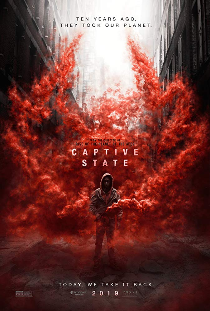 CAPTIVE STATE poster (2019)
