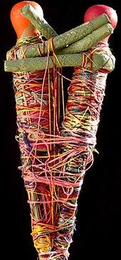 Judith Scott's Twins Sculpture