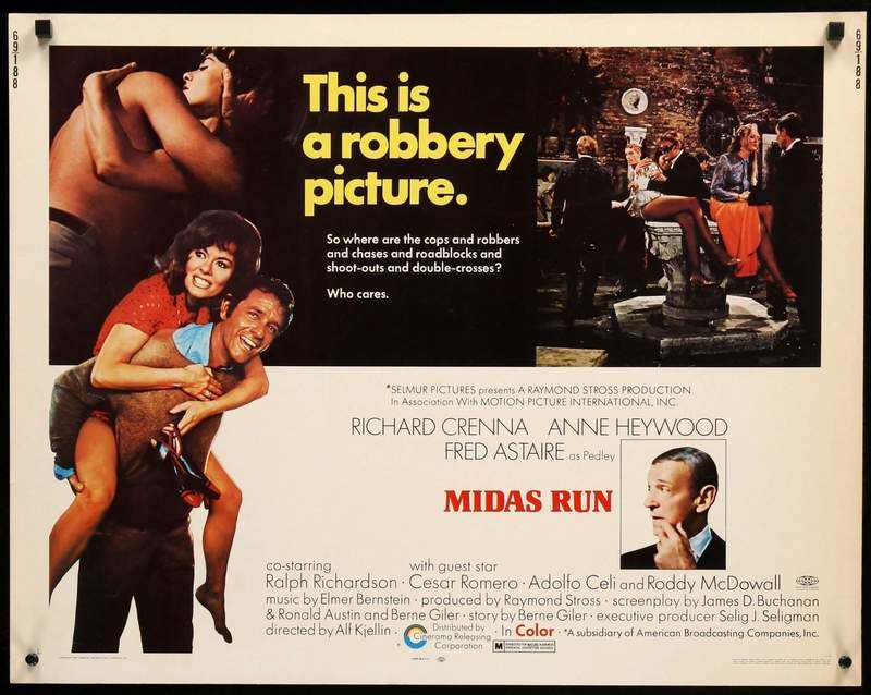 Midas Run (1969) poster