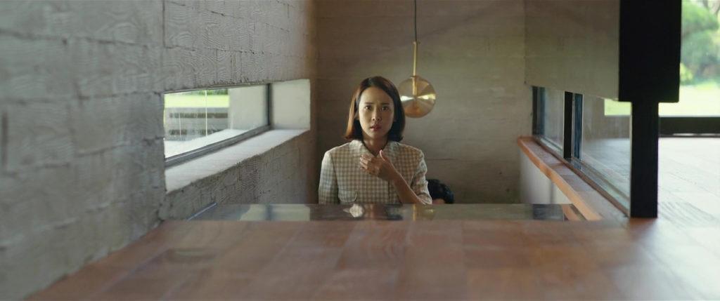 Cho Yeo Jeong in PARASITE (2019)