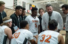 Ben Affleck coaches a high school boys basketball team in THE WAY BACK (2020)