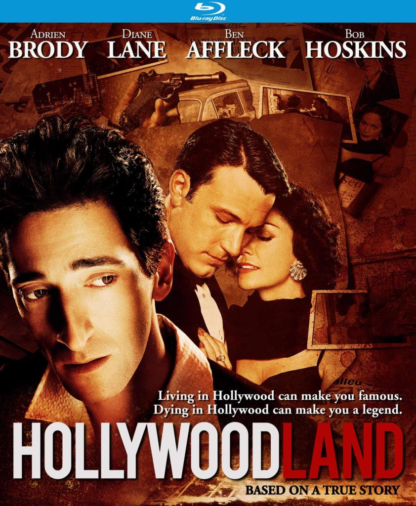 The Blu-ray case for HOLLYWOODLAND (2006)
