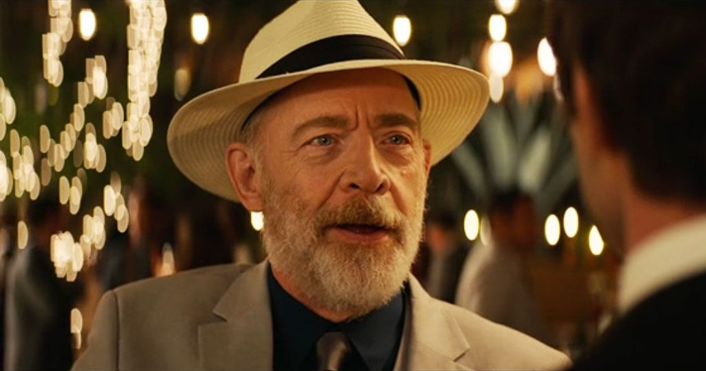 J.K. Simmons at the wedding in PALM SPRINGS (2020)