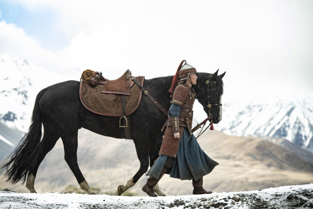 Tzi Ma as Mulan's father in MULAN (2020)
